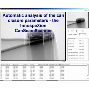 X-ray inspection of can seam – product & process control 1