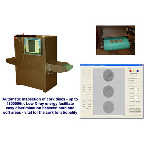 X-ray inspection of cork products - product & process control 2