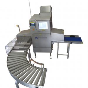 X-ray detection system – cheese contamination - foreign bodies detection 1