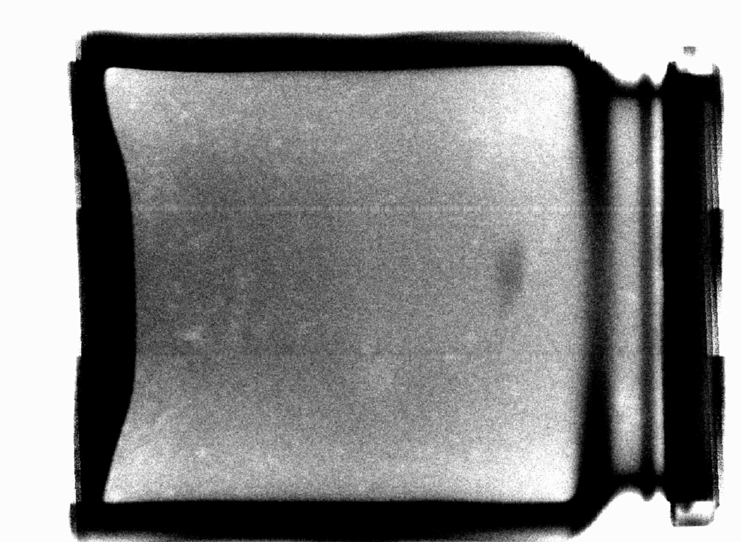 X-ray inspection of glass – glass contamination detection 2
