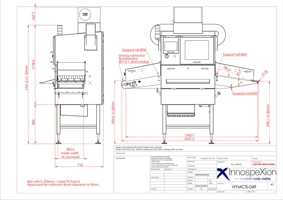 X-ray system– packaging integrity – InnospeXion-The Technology
