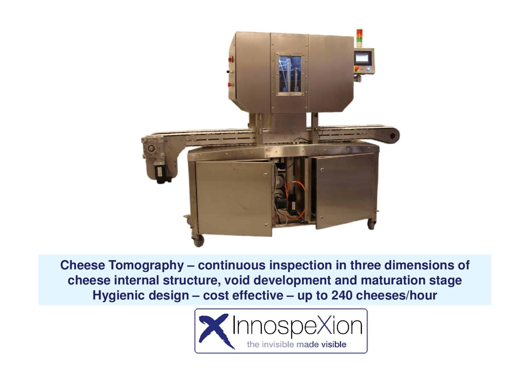 X-ray cheese tomography imaging system 1
